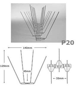 Bird Spike P20 (5 metre Pack)