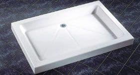 1000mm x 760mm Rectangular Shower Trays