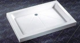 1100mm x 800mm Rectangular Shower Trays