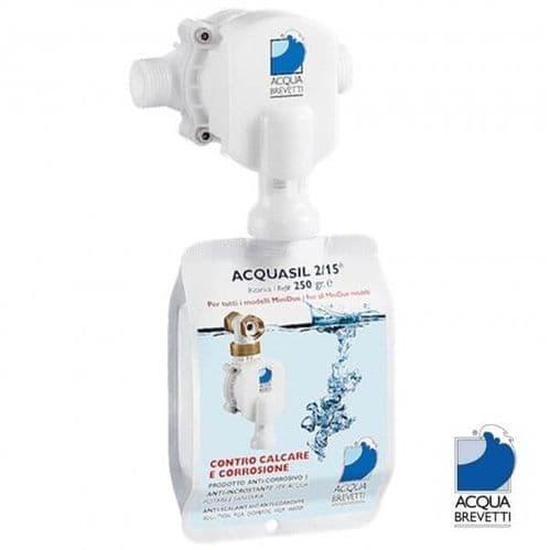 Acqua Brevetti MiniDUE ½ Liquid Water Softener - 17 LPM - No Salt Water Softener