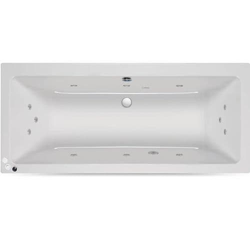 Carron 1900mm x 900mm Quantum DE Duo Double Ended Encore Whirlpool Bath