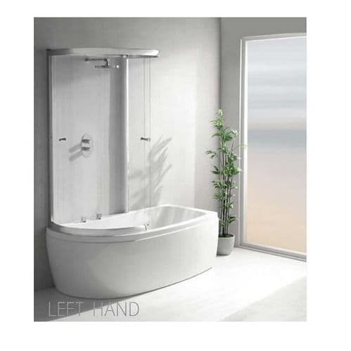 Carron Agenda Left Hand Showerbath 1700 x 800mm