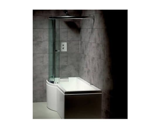 Carron Celsius P Shaped Left Hand Showerbath 1700 x 750mm