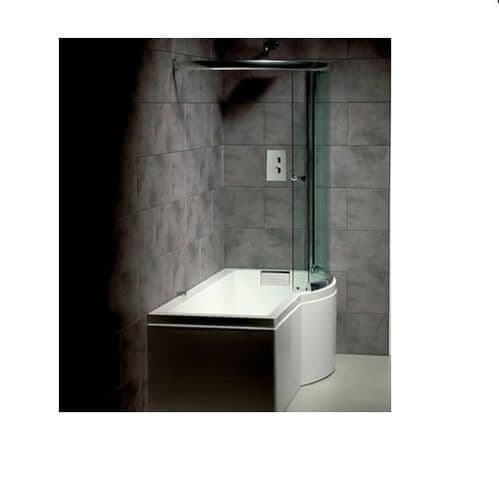 Carron Celsius P Shaped Right Hand Showerbath 1700 x 750mm