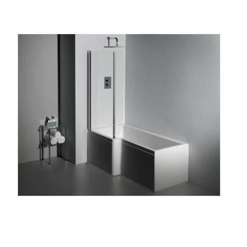 Carron Quantum L Shaped Left Hand Showerbath 1500 x 850mm