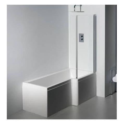 Carron Quantum L Shaped Right Hand Showerbath 1500 x 850mm