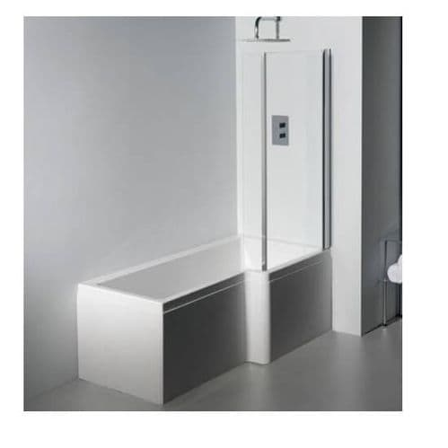 Carron Quantum L Shaped Right Hand Showerbath 1700 x 850mm