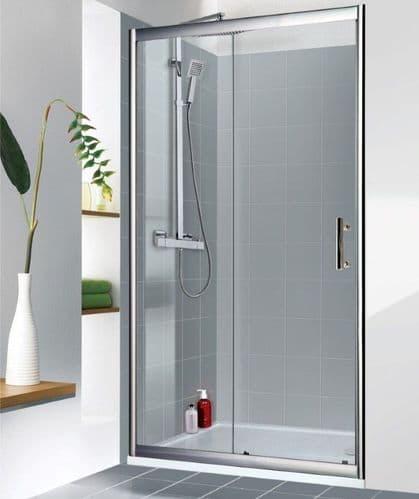 Jupiter Clarence 1000mm Sliding Shower Door Enclosure 6mm Glass
