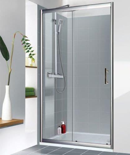 Jupiter Clarence 1200mm Sliding Shower Door Enclosure 6mm Glass