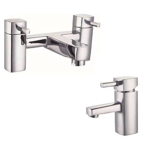 Jupiter  San Marino  Chrome Basin Mixer Pack Set 3178-CR_2178-CR