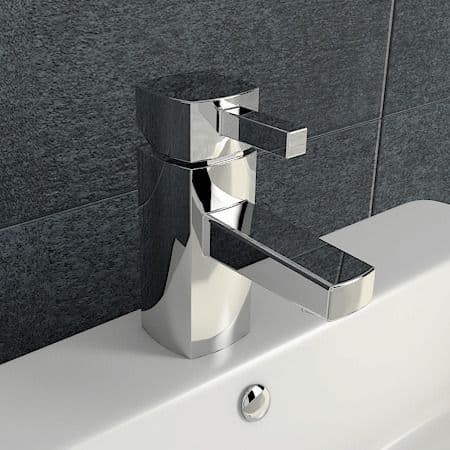 Jupiter San Marino Chrome Mono Basin Mixer Bathroom Sink Tap 3178-CR
