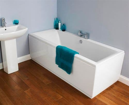 NUIE Asselby Double Ended Bath 1800 x 800 x 425mm