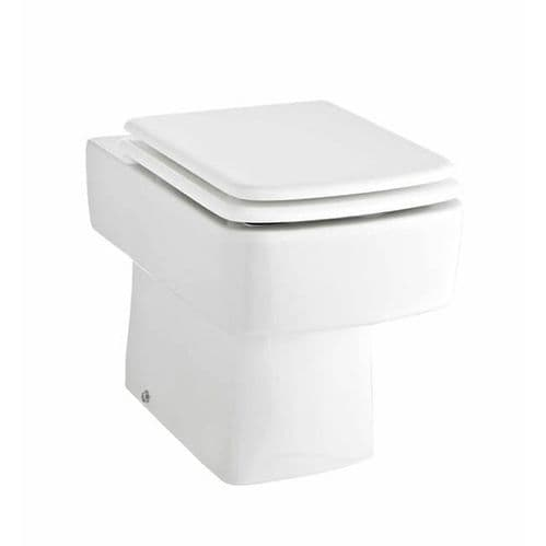 NUIE Bliss Ceramic Back To Wall Toilet H: 400 x W: 350 x D: 520mm