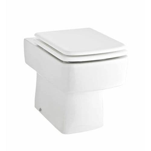 NUIE Bliss Ceramic Back To Wall Toilet  Inc. Soft Close Seat H: 400 x W: 350 x D: 520mm
