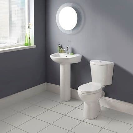 NUIE Brisbane 4 Piece Bathroom Suite