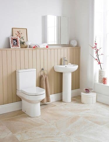 NUIE Harmony 4 Piece Bathroom Suite