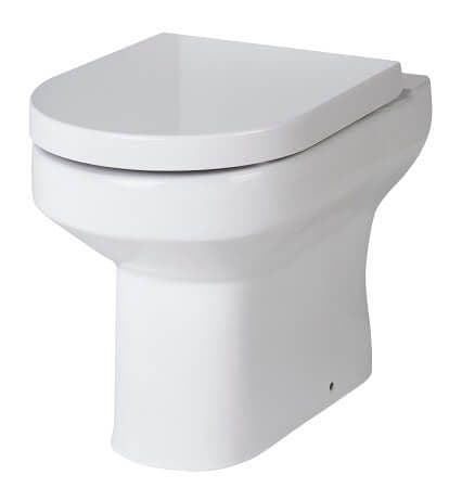 NUIE Harmony Back To Wall Toilet 410 x 360 x 510mm