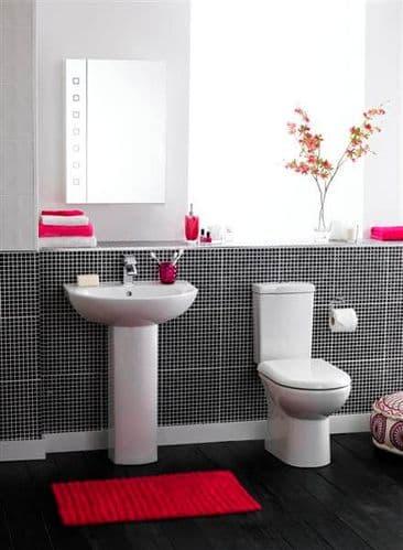 NUIE Knedlington Four Piece Bathroom Suite