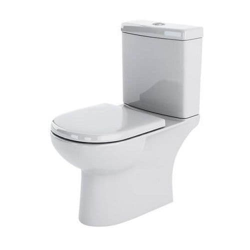 NUIE Lawton Close Coupled Toilet and Cistern 825 x 395 x 670mm