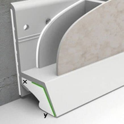 Sealux Cladseal Trim - For Around Bath and Shower Trays