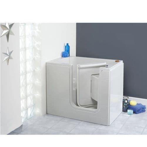 Affinity Right Hand Deep Soaker Walk In Bath 1050mm x 665mm