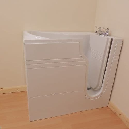 Athena Mini Right Hand Deep Soaker Walk In Bath 1060mm x 660mm