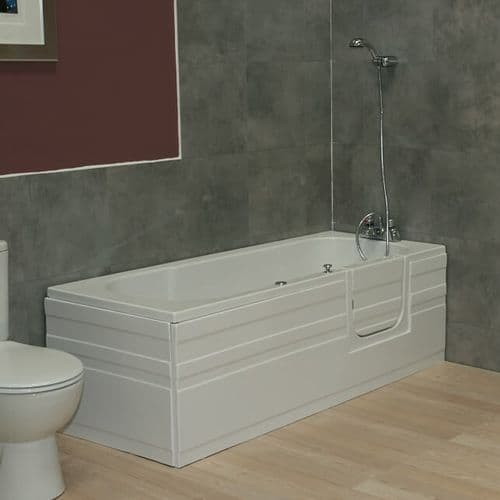 Aventis Right Hand Walk In Bath Without Lift 1700mm x 700mm