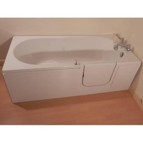 Avrail Mini Right Hand Walk In Bath 1500mm x 700mm