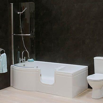 Calypso Right Hand Walk In Shower Bath 1675mm x 850mm
