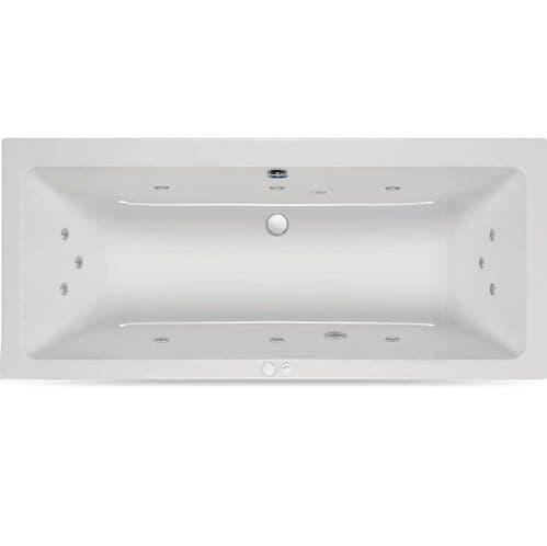 Carron 1700mm x 800mm Quantum DE Duo Double Ended Encore Whirlpool Bath