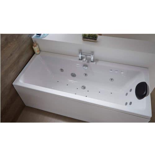 Carron 1800mm x 800mm Quantum DE Duo Double Ended Exquisite Whirlpool Bath Flush C-Lenda Jets System
