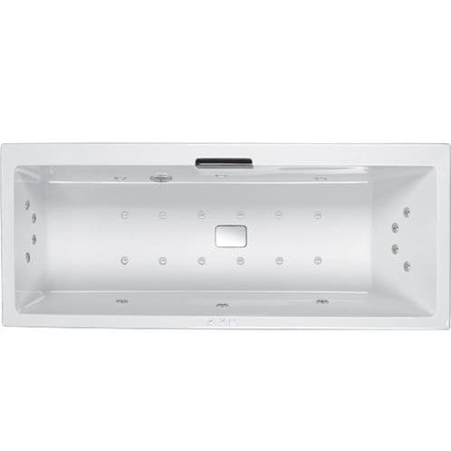 Carron 1800mm x 800mm Right Hand Celsius SE Single Ended Encore Whirlpool Bath 14 Jets