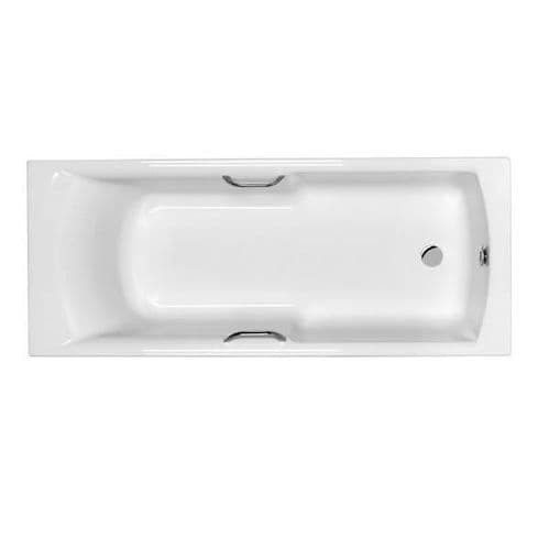 Carron Axis Easy Access Bath with Twin Grips 1500mm x 700mm