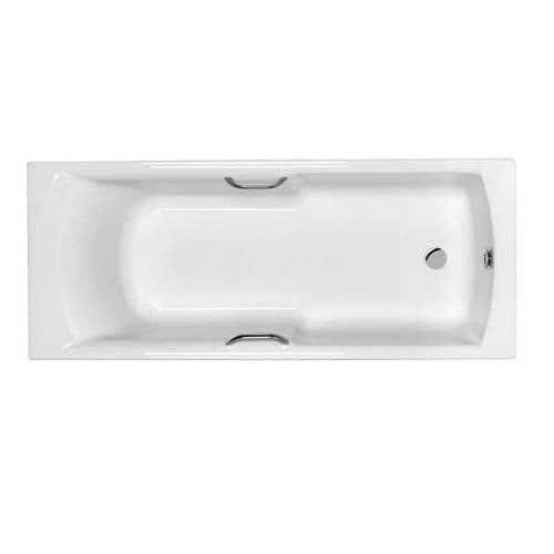 Carron Axis Easy Access Bath with Twin Grips 1600mm x 700mm