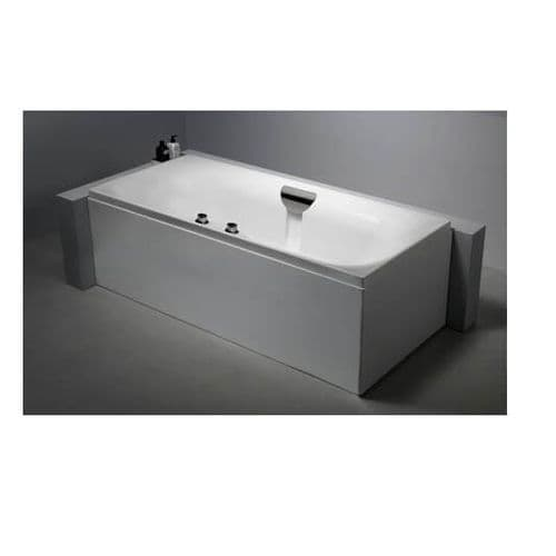 Carron Echelon Duo Double Ended Bath with Tap Ledge 1800 x 800mm