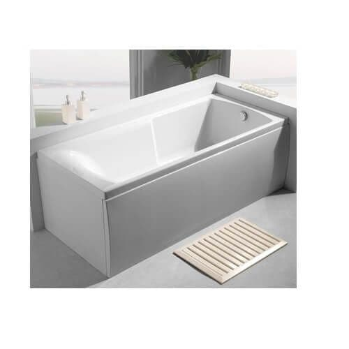 Carron Index Single Ended Bath with Twin Grips 1700mm x 750mm