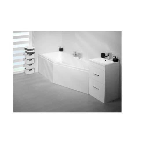 Carron Quantum Space Saver Right Hand Bath 1700 x 750 x 400mm
