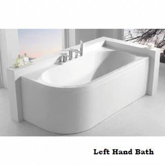 Carron Status Double Ended Left Hand Bath 1600 x 725mm