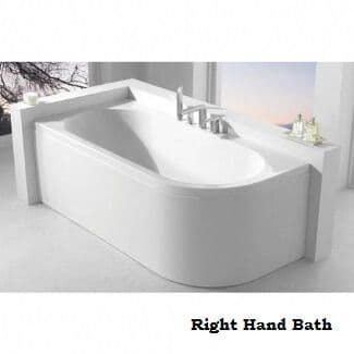 Carron Status Right Hand Double Ended Bath 1700 x 725 mm