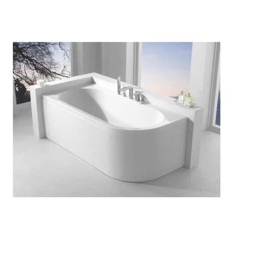 Carron Status Right Hand Double Ended Bath 1700 x 800 mm