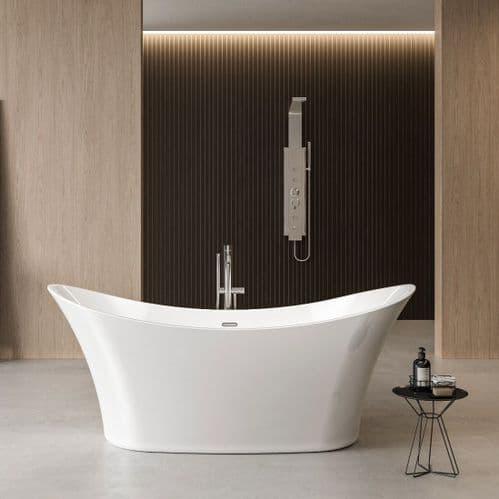 Charlotte Edwards Harrow Contemporary Freestanding Bath - 1700 x 700 x 720mm