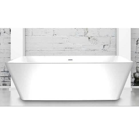 Charlotte Edwards Janus Contemporary Freestanding Bath - 1655 x 685 x 585mm