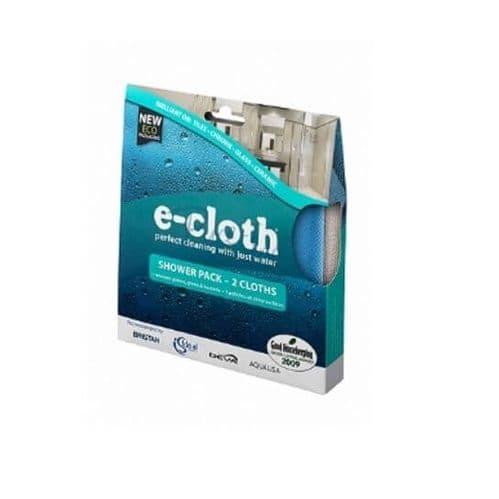 E-Cloth Shower Pack 2 Cloths
