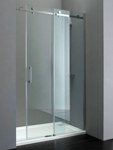 Elite 1000mm Frameless Sliding Shower Door 10mm Easy Clean Glass
