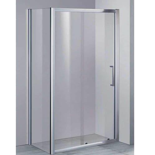 Elite 1200mm x 800mm Sliding Shower Enclosure 8mm Glass