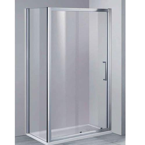 Elite 1400mm Sliding Shower Door 8mm Glass