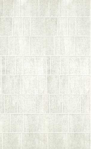 Grey Tile Effect Shower Wall Panel Premium 10mm PVC Waterproof 1m 1000mm x 2400mm Shower Board