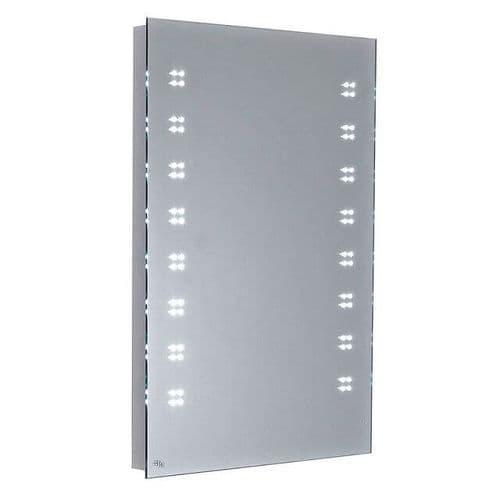 Hudson Reed Glendale LED Backlit Bathroom Mirror with Motion Sensor Technology 700mm x 500mm
