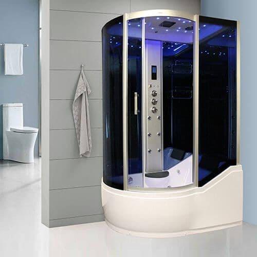 Insignia INS8059R Steam Shower Whirlpool Shower Bath 1700mm x 900mm RIGHT HAND