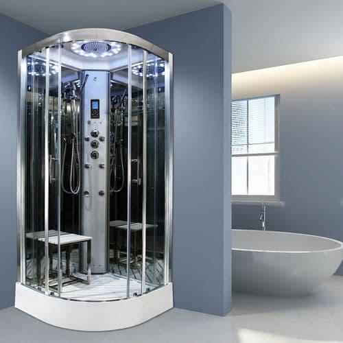 Insignia Platinum 1000mm x 1000mm Non Steam Quadrant Hydro Shower Cabin - Customise Frame / Glass